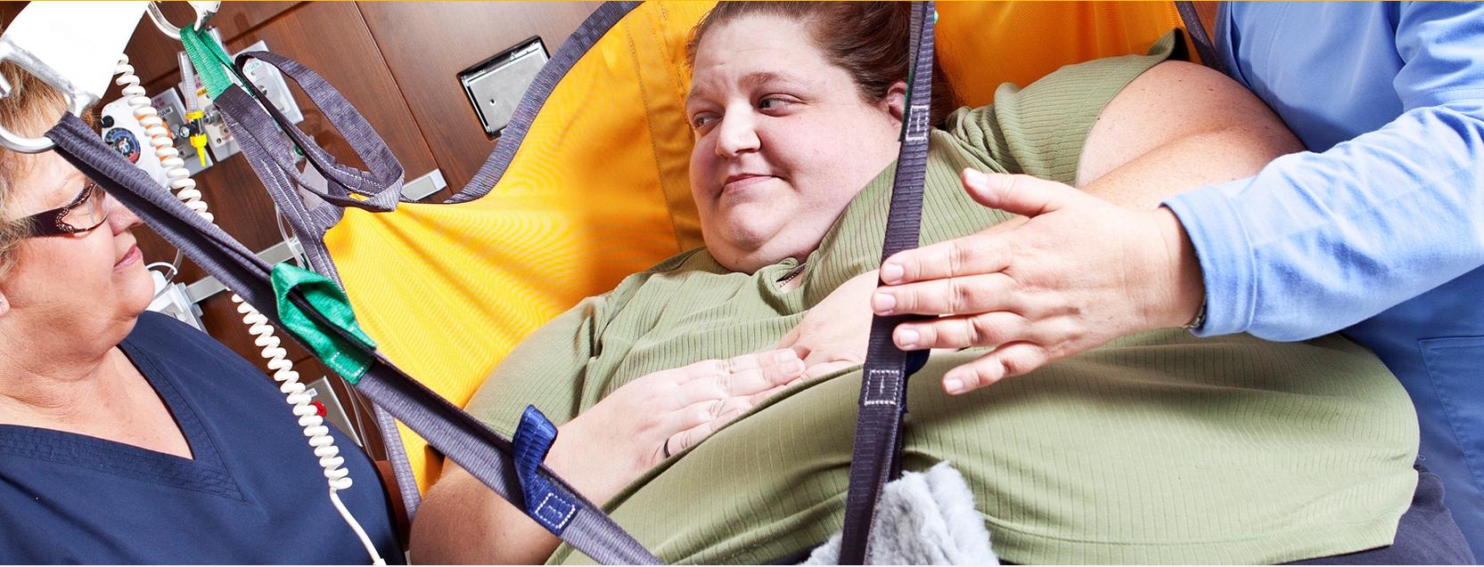 Túlsúlyos betegek mozgatása